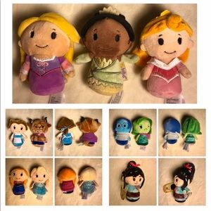 BESTOFFER Itty Bitty's 10 Disney Princesses